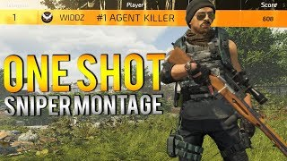 The Division 2 | One Shot Sniper Montage #1 Agent Killer Open Beta