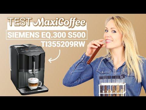 SIEMENS EQ 300 S500 TI355209RW   Machine à café grain   Le Test MaxiCoffee