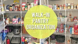 Walk In Pantry Organization and Clean Out!