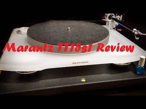 Marantz Tt15 Tt15s1 Turntable Review Part 1 2 Audio