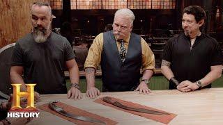 Forged in Fire: Bonus: Falcatas Deliberation - Round 3 (Season 3, Episode 4) | History