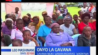 Gavana Njuki atoa onyo kwa wanakandarasi kwamba huenda atalazimika kuwatupa nje baadhi yao