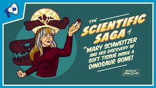 Soft Tissue Found Inside a Dinosaur Bone!