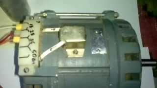 Подключение двигателя  ДАСМ-2УХЛ4