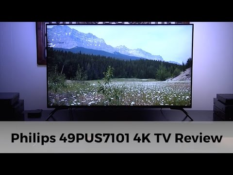 Philips 49PUS7101 4k HDR UHD TV Review