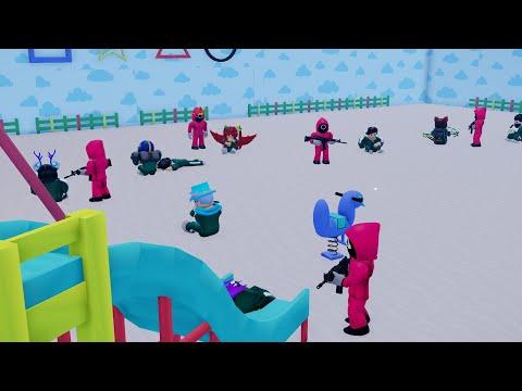 SQUID GAME Sugar Honeycombs Roblox Animation