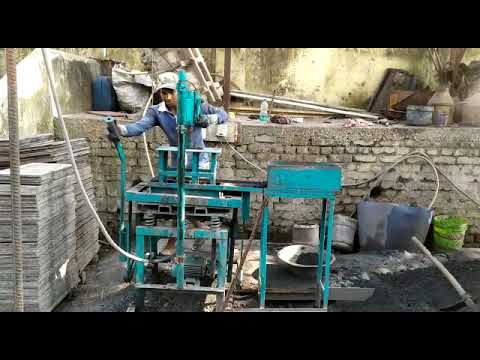 API Manual Brick Making Machine