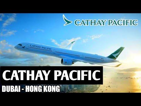 🛫 Flight Report CATHAY PACIFIC Dubai to Hong Kong (ECONOMY)