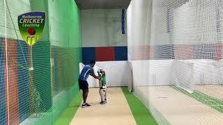 Specialised batting training for kids
