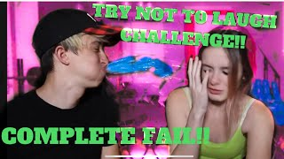 TRY NOT TO LAUGH CHALLENGE GONE WRONG | Cash & Maverick