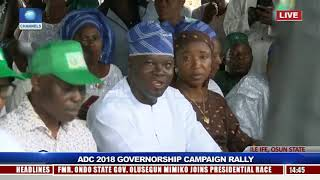 ADC Rallies Support For Akinbade Ahead Of Osun Guber Polls Pt.3 |Live Event|