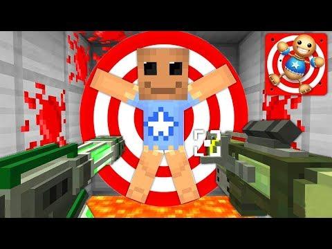 Антистресс KICK THE BUDDY в Майнкрафт! Испытания и Выживание Троллинг Ловушки Нуб и Про Minecraft