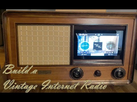 Volumio Vintage Internet Radio Build with Raspberry PI and HiFiBerry amp2