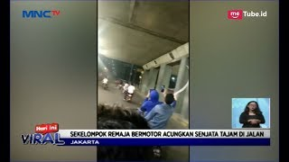 Mengerikan! Aksi Geng Motor Bawa Senjata Tajam Keliling Jakarta - LIS 10/05