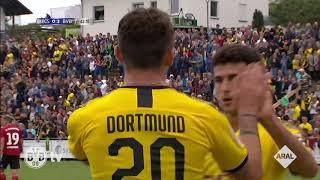 Alle Tore: BVB gewinnt beim FC Schweinberg 10:0
