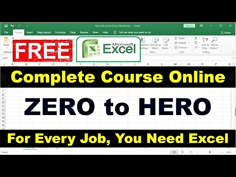 Excel Online Classes - Complete Excel Course Online for Free