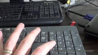 Windows 10 Number keyboard keypad not working