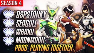 When The SQUAD Meets Up - DSPStanky w/ Seagull, WRAXU And MOONMOON [S4 TOP 500]