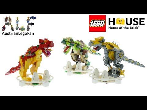 Vidéo LEGO Objets divers 40366 : LEGO House Dinosaurs