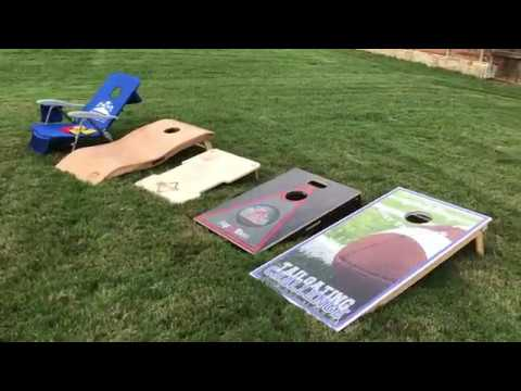 Know all about the different cornhole boards