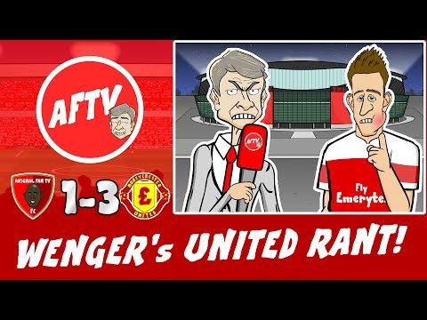 😠WENGER's EPIC UNITED RANT!😠 Arsenal vs Man Utd 1-3 (FA Cup 2019 Parody Goals Highlights)