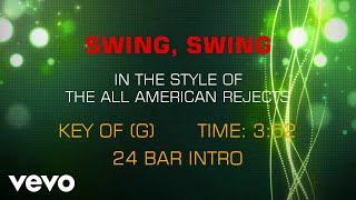 The All-American Rejects - Swing, Swing (Karaoke)