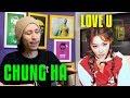 REAGINDO À 청하 (CHUNG HA) - Love U MV