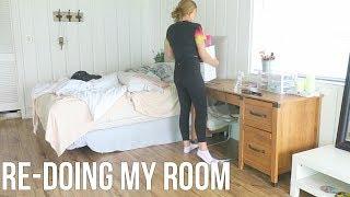 re-doing my room