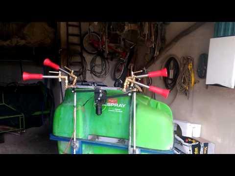 Irroratore oliveto auto costruito parte meccaniche