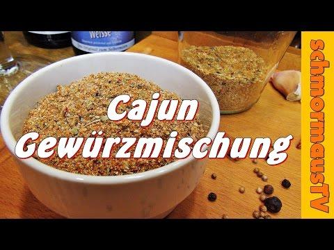 Cajun Gewürzmischung - Rub - Grillgewürz - Gewürzmischung selber machen -