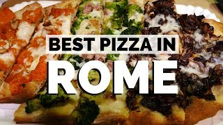 Best Pizza in Rome, Italy