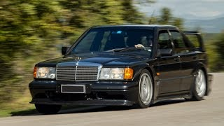 Mercedes-Benz 190 E 2.5-16v Evolution II: Bad wolf or disguised lamb? - Davide Cironi (SUBS)