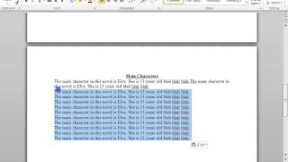 How To Create A Book Report Using Microsoft Word