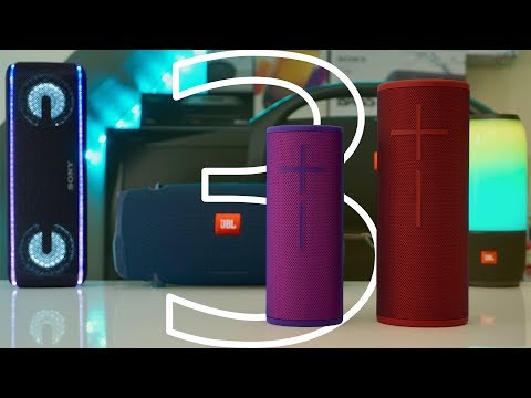 UE Megaboom 3 & Boom 3 Review - Also Compared To JBL XTREME