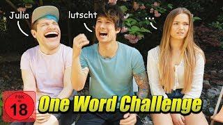 1-Wort Challenge mit Julio Beautx & Renzo (leider zu asozial geworden)