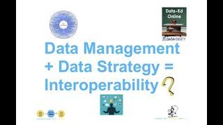 DataEd Webinar: Data Management vs. Data Strategy