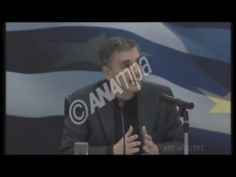 Ευ. Τσακαλώτος:  «Eίναι προς το συμφέρον όλων των πλευρών να μην υπάρξει μια νέα ελληνική κρίση»