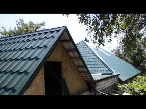 Новая кровля на старую крышу без замены стропил. Как сэкономить на крыше из метало черепицы?