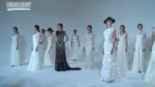 New York Bridal Fashion Week - Claire Pettibone Bridal Spring/Summer 2016 (First Look)