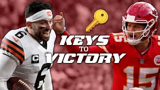 Browns Keys to Victory vs. Chiefs in the Divisional Round by NFL