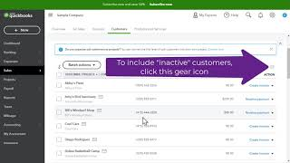 How do I Delete/Inactivate/Reactivate a Customer in QuickBooks Online (QBO)?