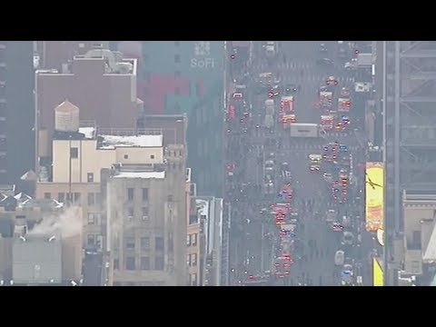 Explosion reported at NYC bus terminal, one suspect in custody