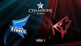 [18.08.2018] Afreeca vs Griffin [LCK Hè 2018][Playoffs][Ván 1]