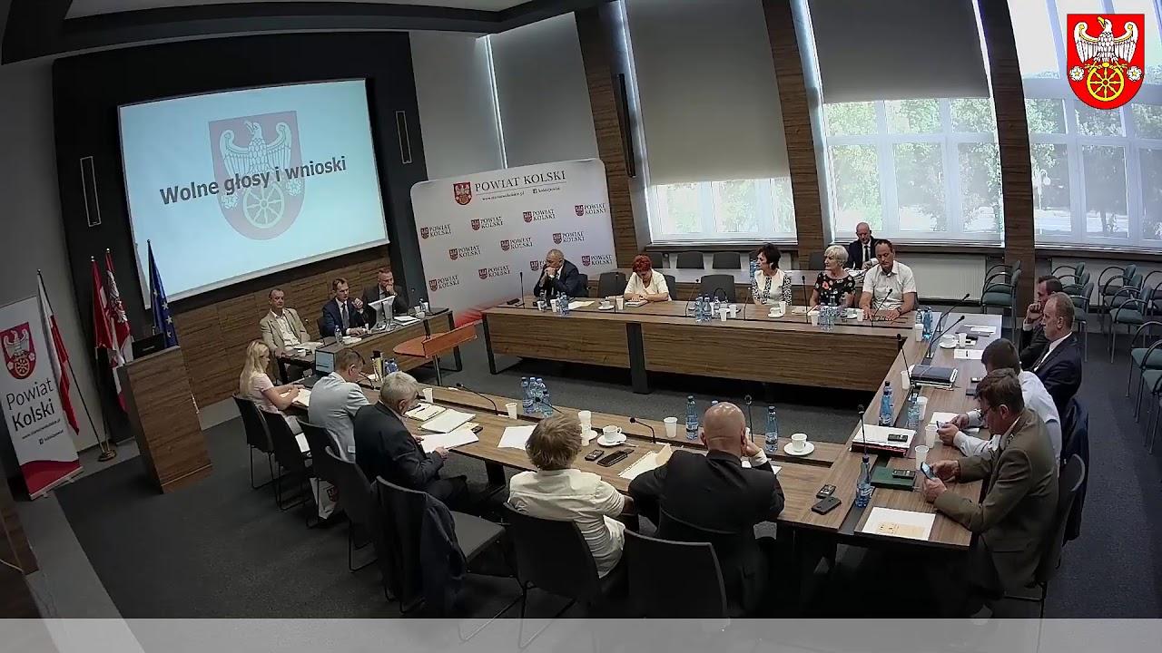 Zdjęcie do XI Sesja Rady Powiatu Kolskiego