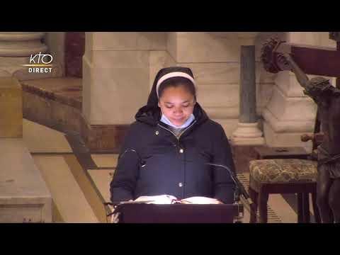 Laudes et Messe du 19 février 2021 à Notre-Dame de la Garde