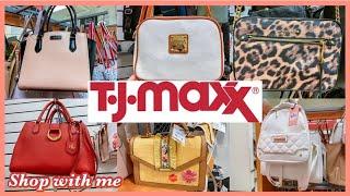 TJ MAXX DESIGNER HANDBAGS SHOPPING*Kate Spade MICHAEL KORS CK| WALKTHROUGH 2020!NEW FINDS‼️