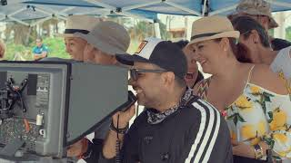 "Elvis Crespo ""Ella Me Besó"" Behind The Scenes Miami Beach"