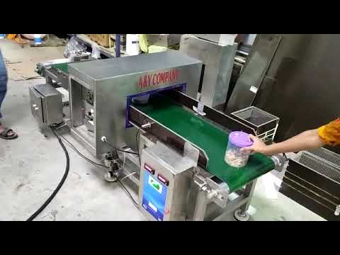 Bottle Line Metal Detector