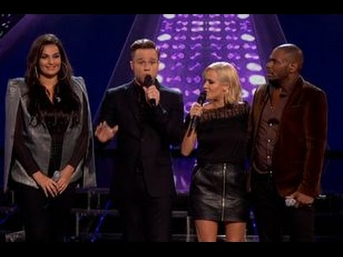X Factor 2015 Olly Murs apologises for vote-off gaffe