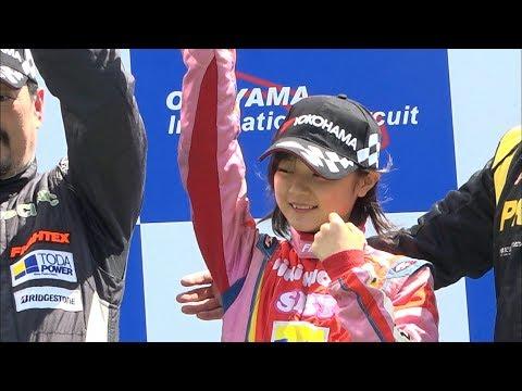 F1目指す中学生プロレーサーJuju選手 今シーズン初戦を制す 岡山